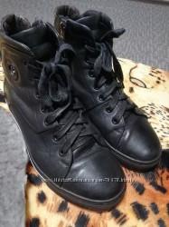 Ботинки зима 40р кожа
