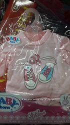 Большой выбор одежды для Baby Born
