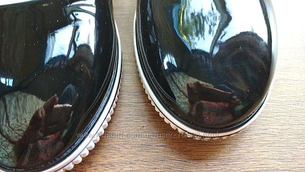 Балетки-туфли лаковые