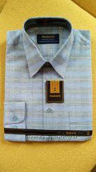 Рубашка мужская с длинным рукавом 39р