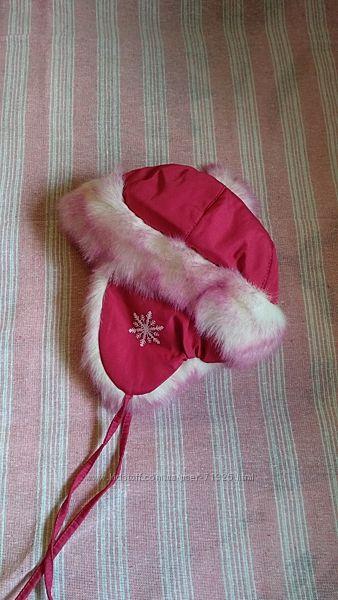 Зимняя шапка с ушками, DiArt, размер 51-53