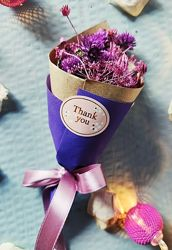 Мини букеты из сухоцветов