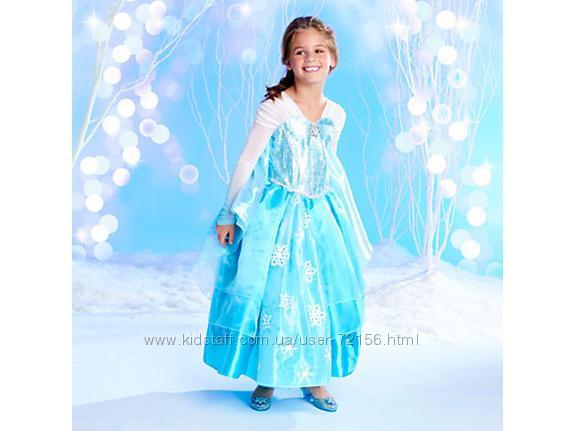 Карнавальное платье принцессы Эльзы Frozen