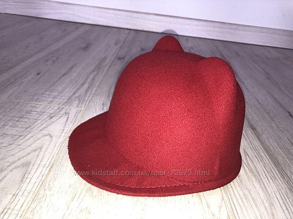 &nbspФетровая шляпка с ушками