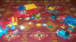 Наши машины Chicco, Mega bloks, Playskool
