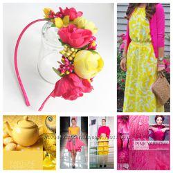 Цветочные украшения на голову