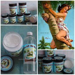Кокосовое масло нерафинированное и рафинированное