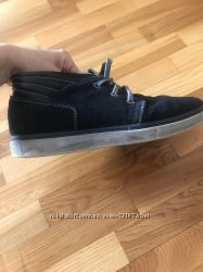 Ботинки Braska на мальчика замш 37 размер