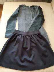 Zara Benetton De Salitto original marines - пакет одежды школьнице