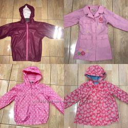 Куртки, пальто, жилетки, плащи, дождевики от 3 мес. до 7 лет