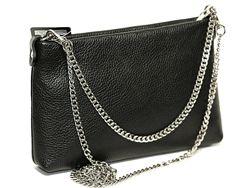 Женская сумочка-клатч VERA PELLE Италия Кожа. 500 моделей обуви и сумок