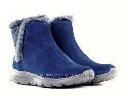 Акция. Новые кожаные ботинки SKECHERS р. 36