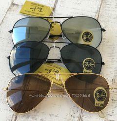 Новинки. Солнцезащитные очки RayBan Wayfarer, Aviator, MiuMiu. Скидки.