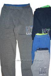 Утепленные спортивные брюки на мальчика