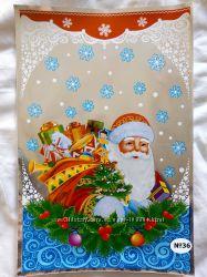 Новогодние пакеты для сладостей и подарков