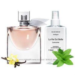 Наливная парфюмерия Lancome La Vie Est Belle  110 мл