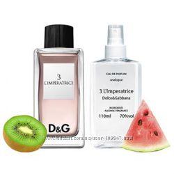 Наливная парфюмерия Dolce&Gabbana 3 L&acuteImperatrice 110 мл