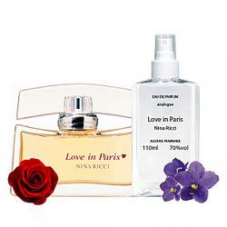 Наливная парфюмерия Nina Ricci Love in Paris