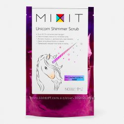 антицеллюлитный скраб-шиммер Mixit Unicorn Shimmer Scrub