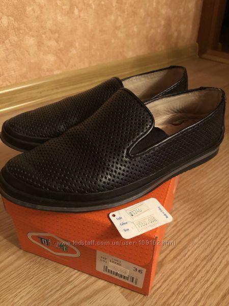 Школьные туфли Tiflani 36р.