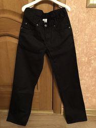 Чёрные джинсы C&A на рост 140-146 см.