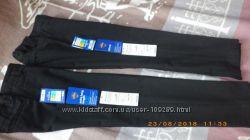 Школьные брюки Marks&Spenser Slim Fit на рост 122 см, 2 пары, отличное сост