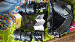 Защита HY SKATE полный комплект для роликов, Германия 152-176, пояс-сумка.