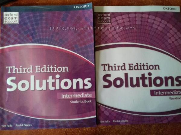 Solution intermediate английский учебник и рабочая тетрадь