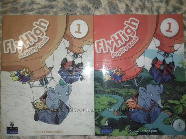 Fly High 1 Английский учебник и рабочая тетрадь