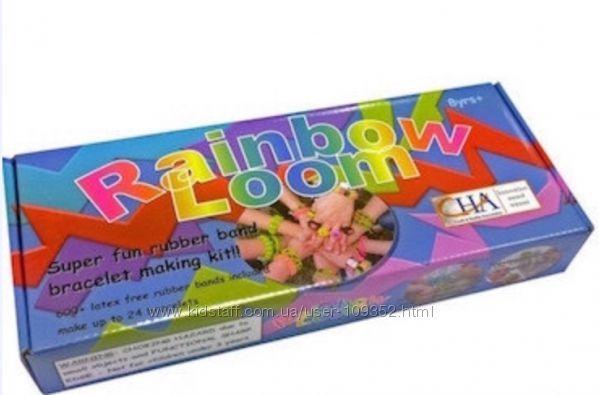 Комплект для плетения резиночками RAIBOW LOOM