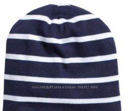 Двухслойная шапка из плотного хлопкового трикотажа