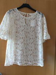 Новая кружевная блуза H&M
