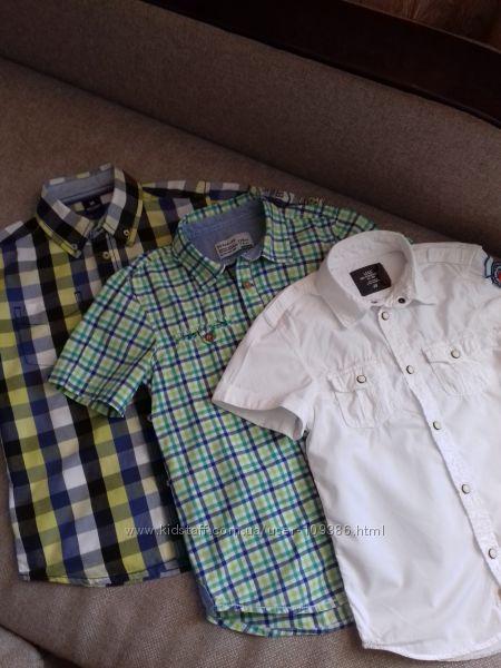 Фирменные рубашечки мальчику, р. 128