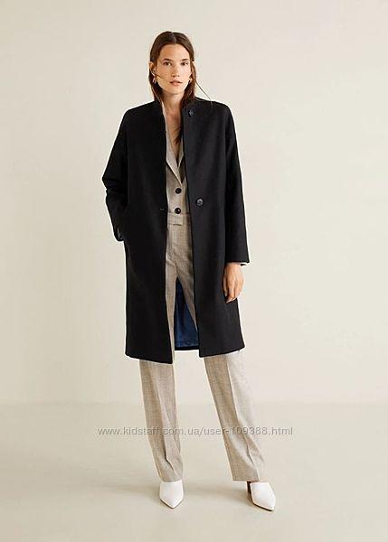 ПРОЛЕТ шикарное утепленное пальто Mango