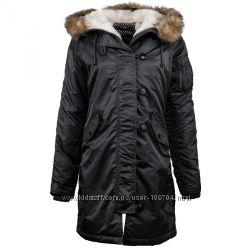 Теплая куртка Аляска- Alpha Industries Elyse Parka США Оригинал