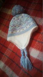 теплая шапочка George 4-8 лет