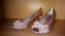 Нежные красивые туфельки New look, 22,5см. Новые.