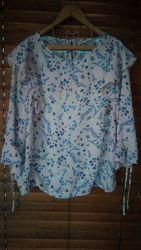 легкая блузка george размер UK18 EUR 46