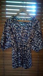 легкая блузка, туника george размер UK18 EUR 46
