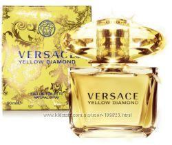 Versace Yellow Diamond  Versace Bright Crystal - красивые и популярные