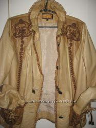 Кожанка эксклюзивная р. 48-50 Marco Polo куртка ветровка