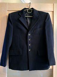 Пиджак школьный темно-синий