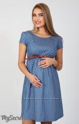 Стильное платье длябеременных и кормящих