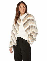 Женская куртка-пиджак  Calvin Klein из искусственного меха