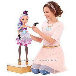 Кукла Ever After High Madeline Hatter Новинка 70см в наличии Оригинал