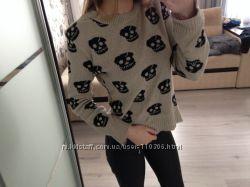 Тёплые стильные свитерки