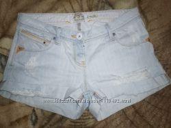 Шорты джинсовые с дырками тренд сезона