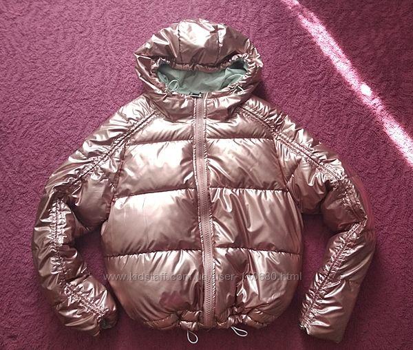 Теплая куртка oversize, L