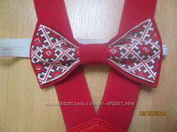 Супер стильные галстуки и бабочки и подтяжки