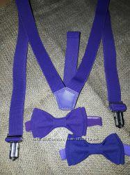 Бабочки и галстуки в наличие и подтяжки